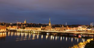 General view of Old Town Gamla Stan in Stockholm, Sweden Stock Photos
