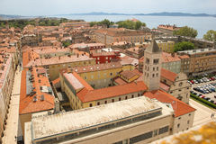 General view of the old town. Zadar. Croatia Royalty Free Stock Photography