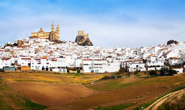 General view of   Olvera Stock Photography