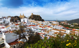 General view of Olvera. Cadiz, Spain Stock Images