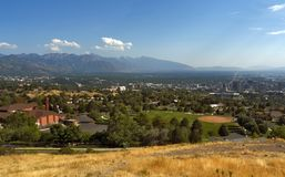 Ensign Park, Salt Lake City, Utah, USA royalty free stock photo