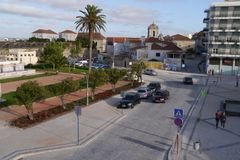 General View of Peniche Portugal Stock Image