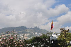 General view of Quito downtown Royalty Free Stock Photos