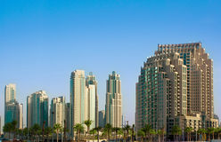 General view of a residential area of Dubai, UAE Stock Photography