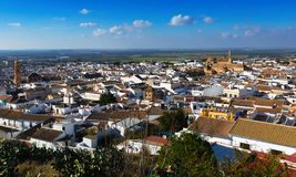 General view of residential districts of Osuna.  Andalucia Stock Photo