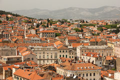General view. rooftops. Split.Croatia Royalty Free Stock Images