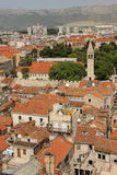 General view. rooftops. Split.Croatia Stock Photography