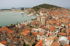 General view. rooftops. Split.Croatia Stock Photo