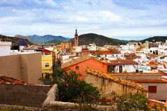 General view of Sagunto Royalty Free Stock Images