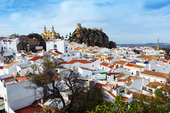 General view of  spanish town.  Olvera Stock Images