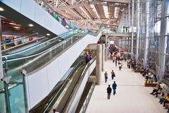 General view of Suvarnabhumi International Airport Royalty Free Stock Image