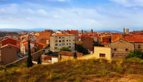 General view of Teruel in summer day Royalty Free Stock Photography