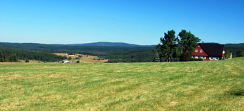 General view to Jizerka settlement Stock Images