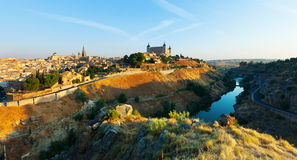 General view of Toledo Royalty Free Stock Photography
