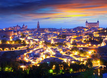 General view of Toledo in morning Stock Photo