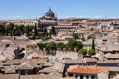 A general view of Toledo, Spain Royalty Free Stock Photo