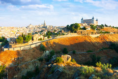 General view of Toledo in summer day Stock Image