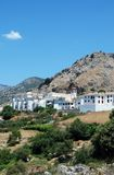 White village, Benaocaz, Andalusia. Stock Image
