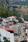 White village, Benaojan, Andalusia. Stock Photo