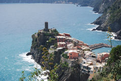 General view of Vernazza Royalty Free Stock Image