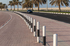 General view of the waterfront of Sharjah UAE Stock Image