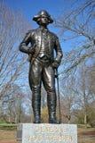 General Von Steuben Memorial Monmouth Battlefield imagem de stock royalty free
