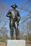 General Von Steuben Memorial Monmouth Battlefield Royalty Free Stock Image