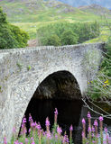 General Wades Bridge over River Almond, Perthshire, Scotland. The bridge was built in 1730 to allow faster access for troops to subdue the Jacobites and carries Royalty Free Stock Photos