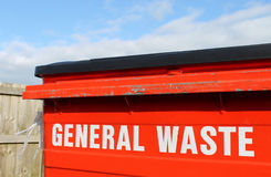 General waste bin Royalty Free Stock Images