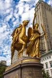 General William Tecumseh Sherman Monument i New York Arkivbilder
