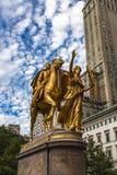 General William Tecumseh Sherman Monument in New York Lizenzfreies Stockbild