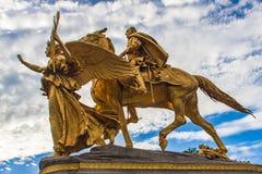 General William Tecumseh Sherman Monument in New York Stock Photos