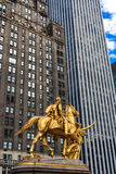 General William Tecumseh Sherman Monument in New York Royalty Free Stock Images