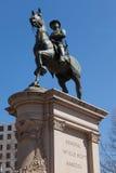 General Winfield Scott Hancock i Washington DC Arkivfoto