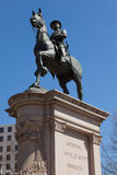 General Winfield Scott Hancock no Washington DC Foto de Stock