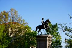 General Winfield Scott Hancock Statue Royaltyfri Fotografi