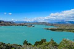 Generale Carrera, Cile del lago Fotografia Stock Libera da Diritti