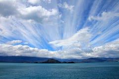 Generale Carrera Lake, Patagonia, Cile Fotografia Stock