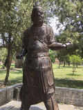 Generale del ferro di China& x27; dinastia di canzone di s Fotografie Stock Libere da Diritti