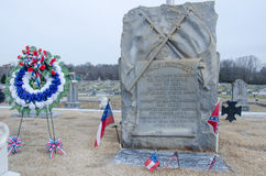 Generale James Longstreet Grave Fotografia Stock