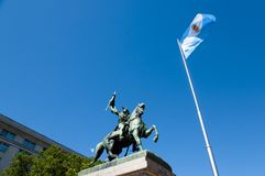 Generale Manuel Belgrano Monument - Buenos Aires - Argentina fotografie stock libere da diritti