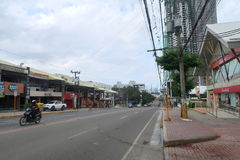 Generale Maxilom Avenue fotografie stock libere da diritti