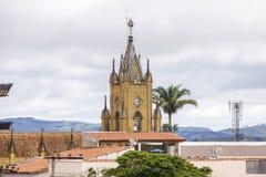 Generalen sätter in Brasilien royaltyfri bild