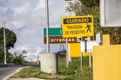Generalen sätter in Brasilien arkivbilder