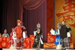 """Generaler för Hellbender- PekingOpera"""" kvinnor av Yang Familyâ € royaltyfri foto"""