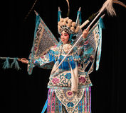 """Generales de las mujeres de Cierre-para arriba-Pekín Opera"""" del  del € de Yang Familyâ foto de archivo libre de regalías"""