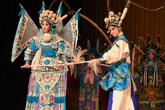 """Generales de las mujeres de Pekín Opera"""" del desfile del campo de la escuela del  del € de Yang Familyâ Fotos de archivo"""