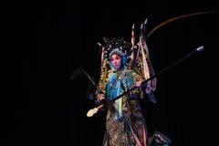 """Generales de las mujeres de Yang Qiniang- Pekín Opera"""" del  del € de Yang Familyâ Fotografía de archivo libre de regalías"""