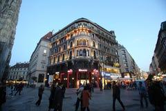 Generali building Spiegelgasse in Vienna Royalty Free Stock Image