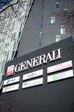 Generali insurance tower Royalty Free Stock Photo